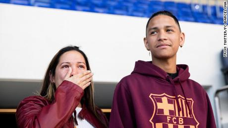 Parkland shooting survivor Anthony Borges to meet Barcelona heroes