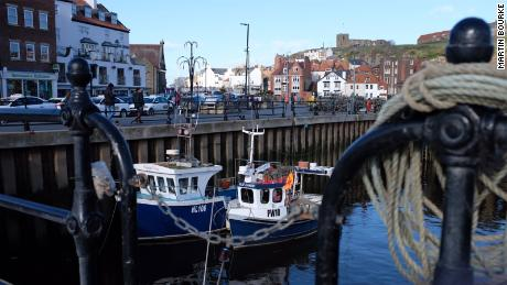 Many of the skippers in Whitby's fleet were happy to back Prime Minister Theresa May's Brexit deal.