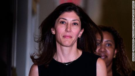 Trump target Lisa Page blasts his 'orgasm' mockery of her