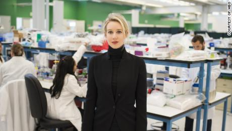 Elizabeth Holmes was the subject of 'The Inventor'