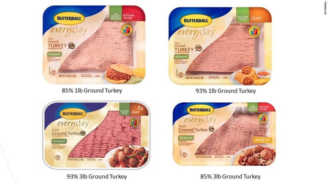 39 tons of Butterball ground turkey recalled after salmonella cases - CNN