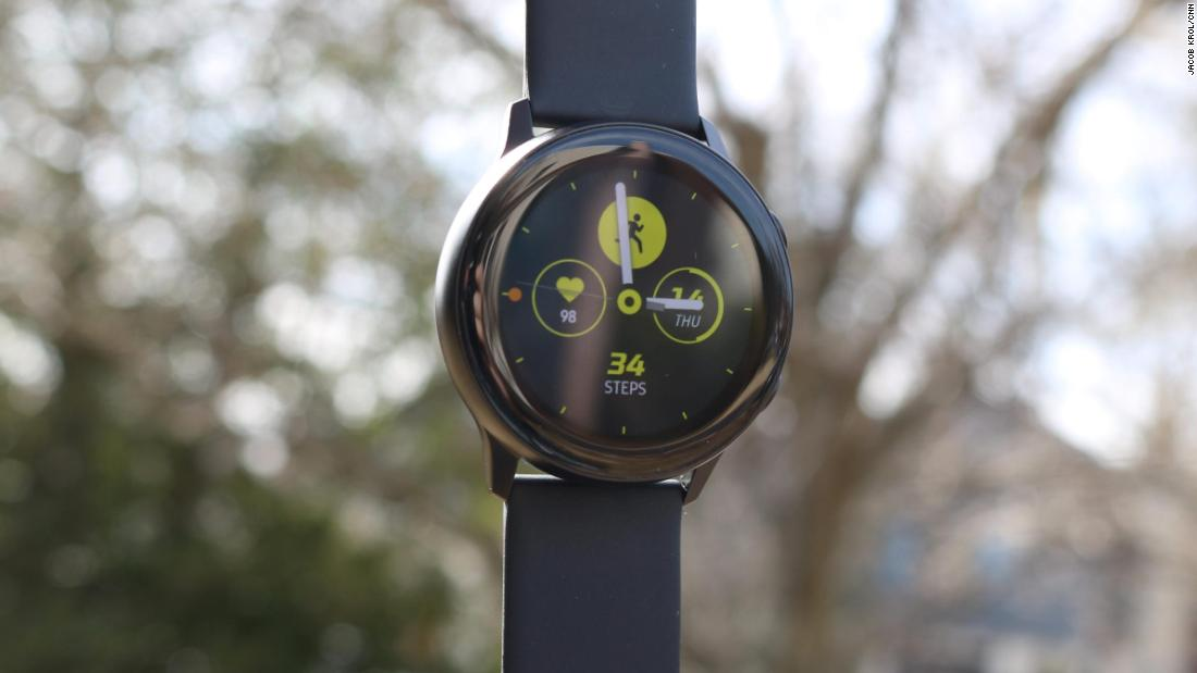 Samsung's slim $199 Galaxy Watch Active doubles down on fitness