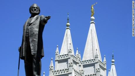 Brigham Young told Mormone they
