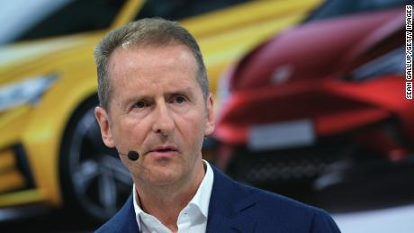 Volkswagen CEO apologizes after appearing to reference Nazi slogan