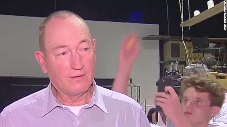 Controversial Australian senator egged after New Zealand shootings statement