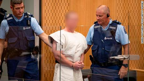 New Zealand shooting suspect Brenton Tarrant charged with murder in Christchurch court