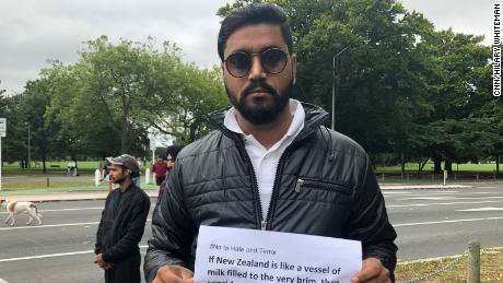 "Deepak Sharma, who has lived in Christchurch 10 years, tells CNN ""this is not the country we chose to immigrate to."""