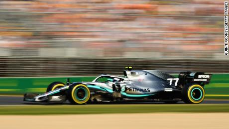 Valtteri Bottas won by more than 20 seconds in Melbourne.