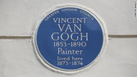 Papers found in Van Gogh's former home bring his time in London to life