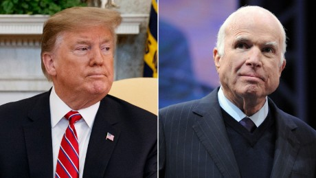 Trump won't let McCain feud rest in peace