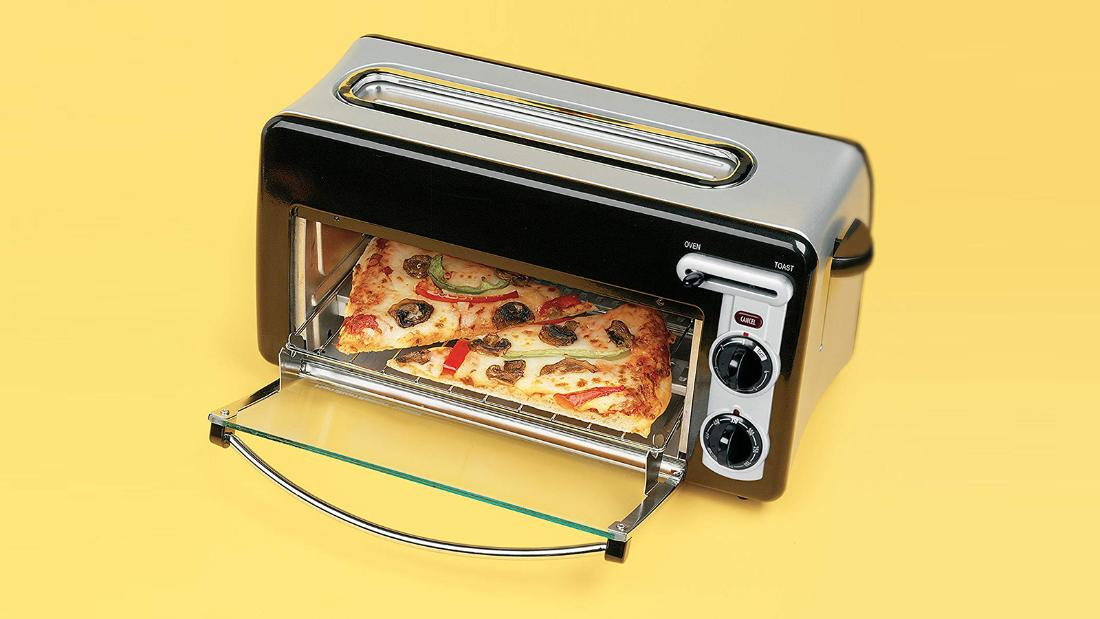 Amazon customers love this toaster oven