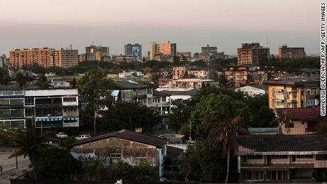 A general view of the coastal city of Beira years before Cyclone Idai hit. It is one of the biggest cities in Mozambique.