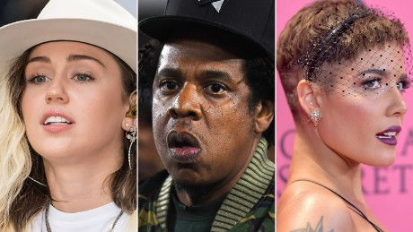 Jay-Z, Miley Cyrus and Halsey are among Woodstock 50 headliners