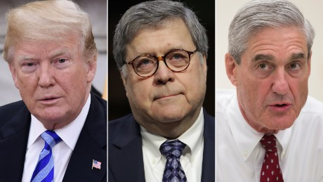 Barr: Mueller finds no Trump-Russia conspiracy