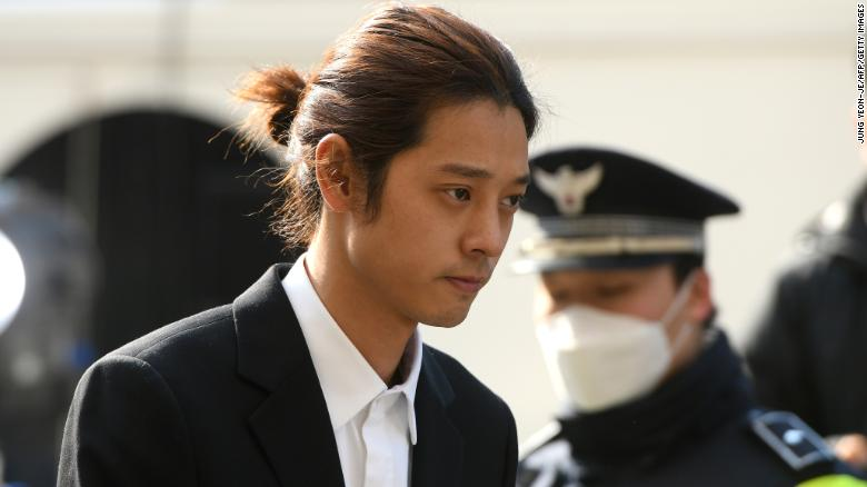 Pop singer Jung Joon-young sentenced for six years for gang rape