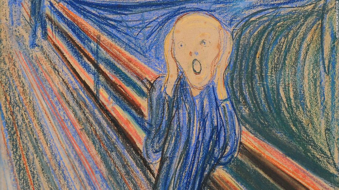 The Scream Has Been Interpreted All Wrong Cnn Style