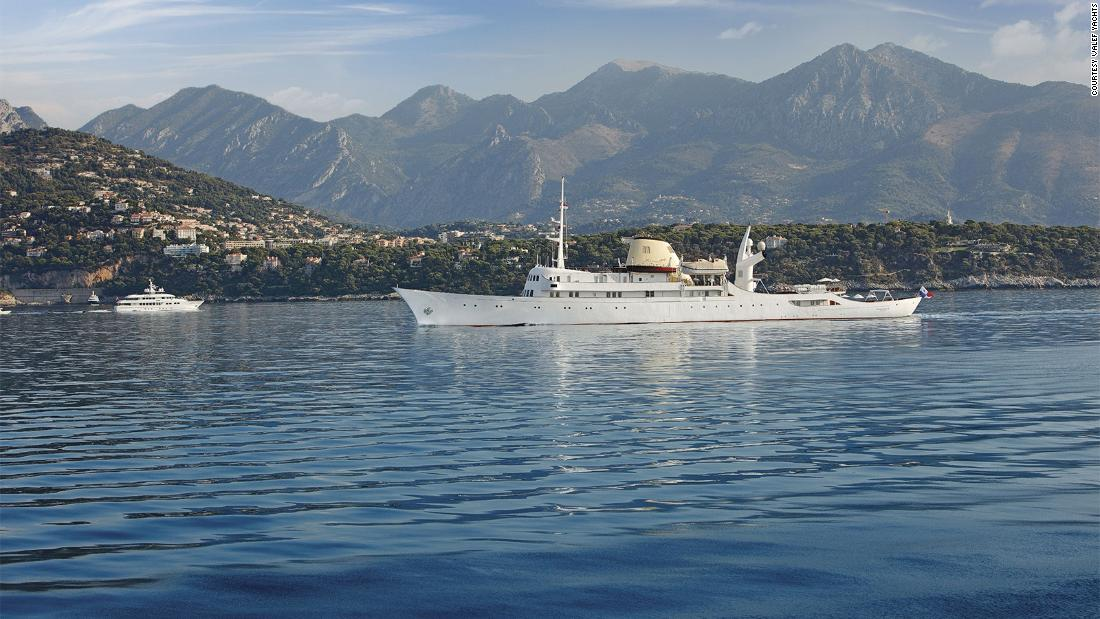 The Christina O, the famous Onassis yacht, now for rent