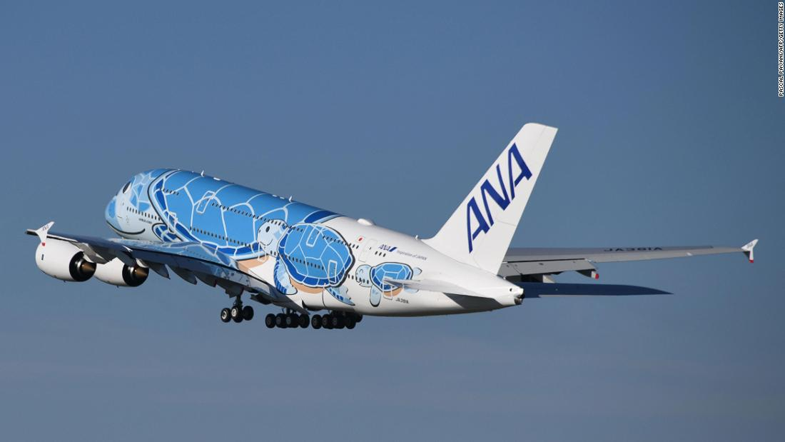 A380 'Flying turtle' ready for takeoff