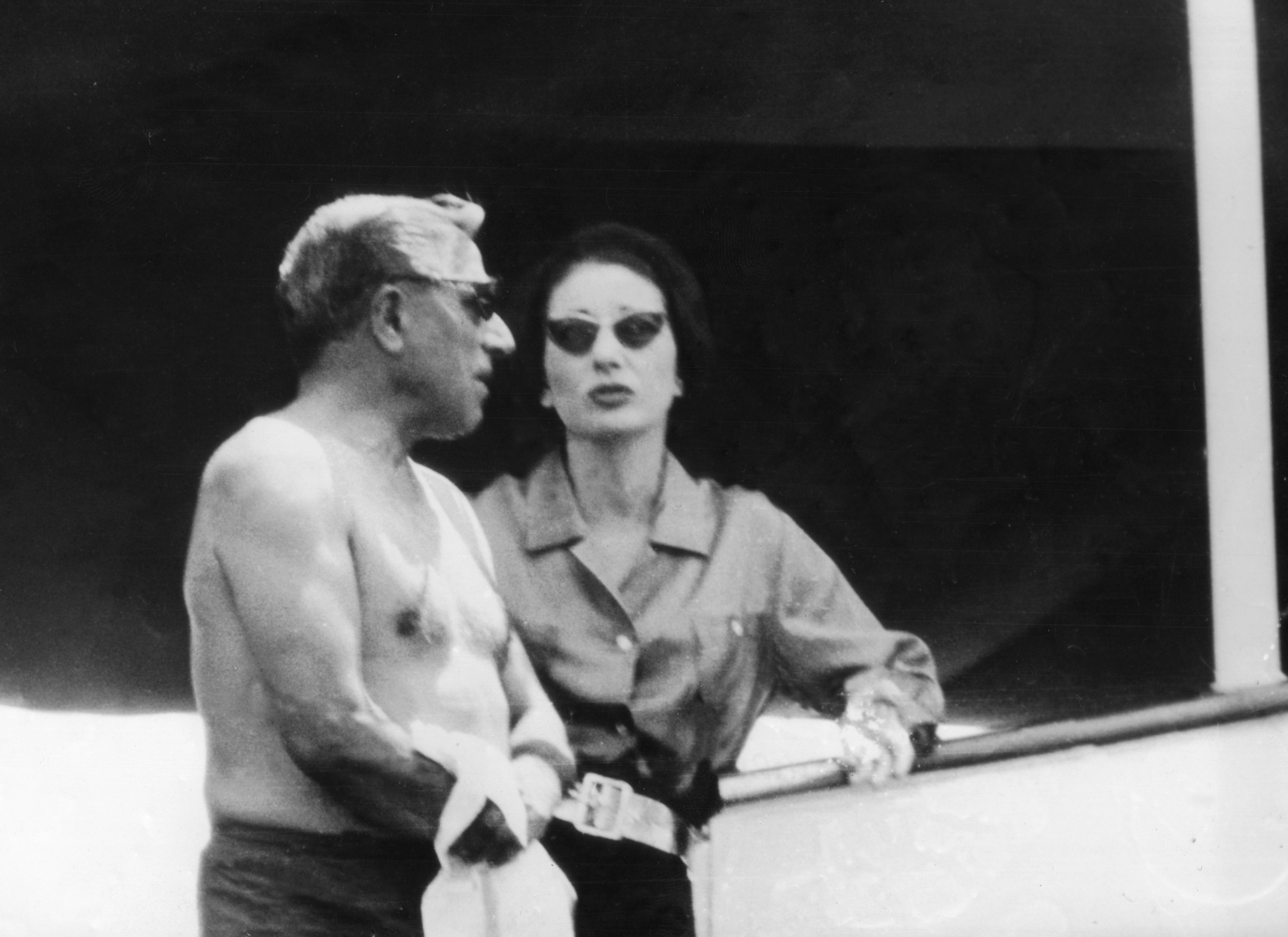 Aristotle and Christina Onassis
