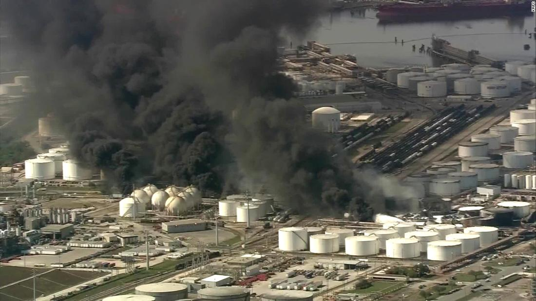Deer Park, Texas, residents face health worries after massive fire at petrochemical facility - CNN
