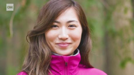 Japan's youngest climber Marin Minamiya.