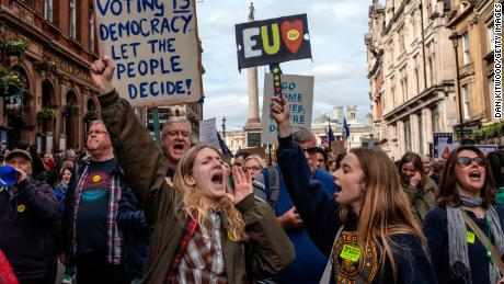 Abandon Brexit, say London marchers. But will lawmakers listen?