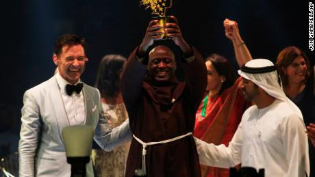 Teacher from remote Kenya village is world's best, wins $1.3 million