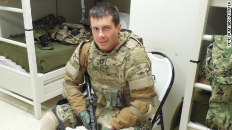 Buttigieg wields his military credentials: 'It's not like I killed Bin Laden,' but it was dangerous