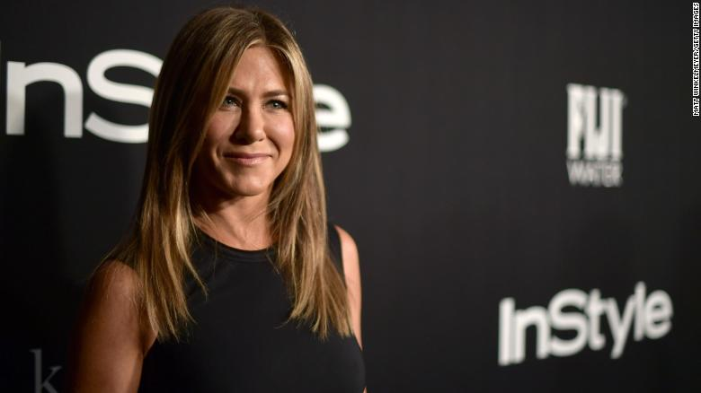 Prince Harry was reportedly texting Jennifer Aniston before he met Meghan