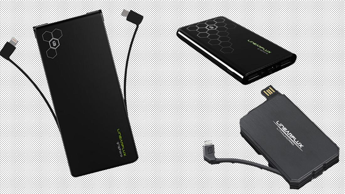 This 3-in-1 cable and thin portable chargers can keep you powered up