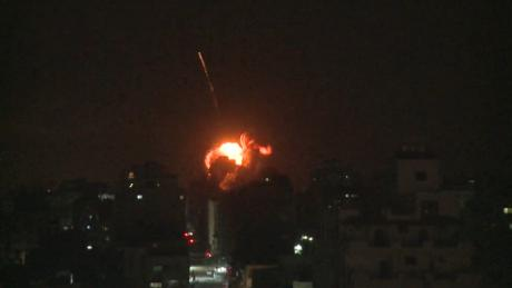 Israel launches airstrikes into Gaza in retaliation for rocket