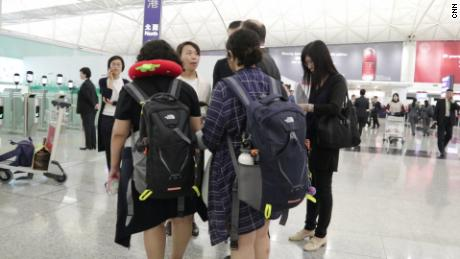 Two Saudi sisters who arrived in Hong Kong last September have finally left the city after being offered an emergency humanitarian visa elsewhere.