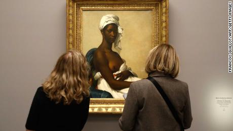 French masterpieces renamed after black subjects
