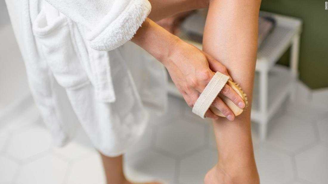 If you're not dry brushing your skin, here's why you should reconsider