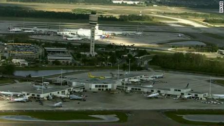 A Southwest Airlines flight made an emergency landing at Orlando International Airport on Tuesday.