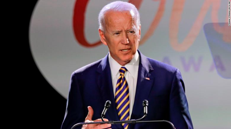 Biden's Dem rivals are leaving him out to dry over 'inappropriate' touch