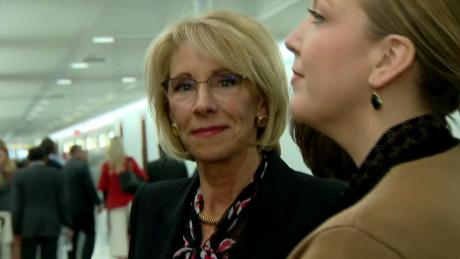betsy devos special olympics funding cut disgusting politics nobles sot nr vpx_00020714