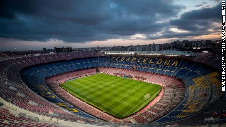 United will travel to Camp Nou for the second leg of the quarterfinal tie on April 16.