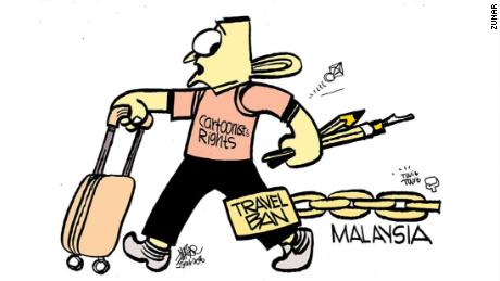 The cartoonists who helped take down a Malaysian prime minister