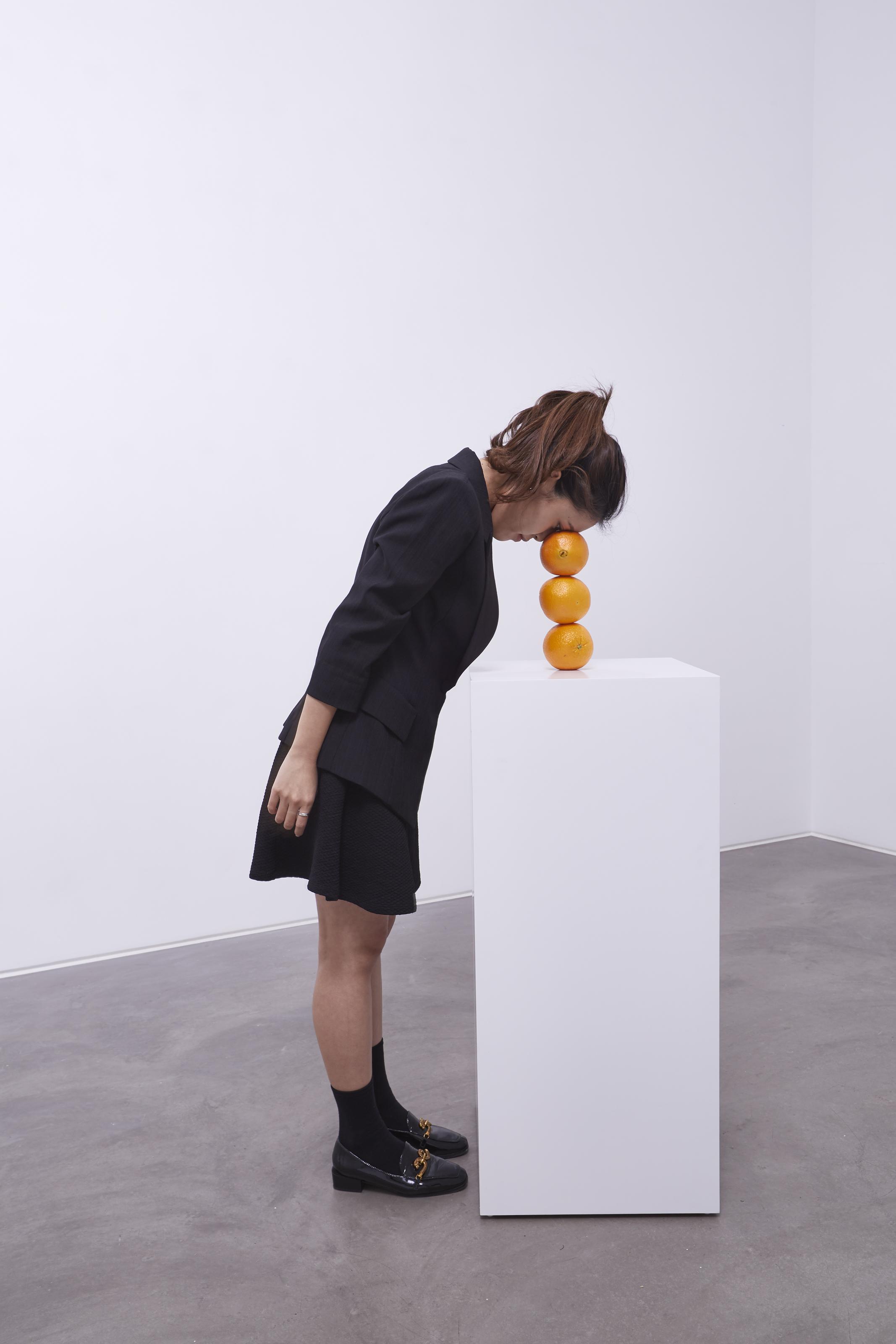 Inside Erwin Wurm's 'absurd' sculptures last just 60 seconds