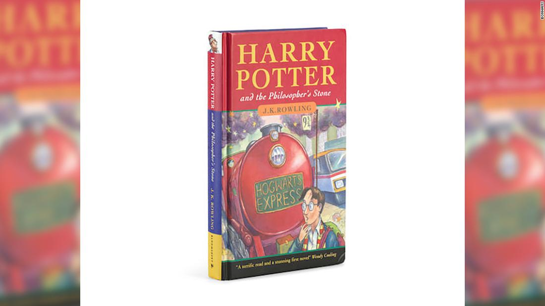A rare Harry Potter book sold for almost $100,000 - CNN