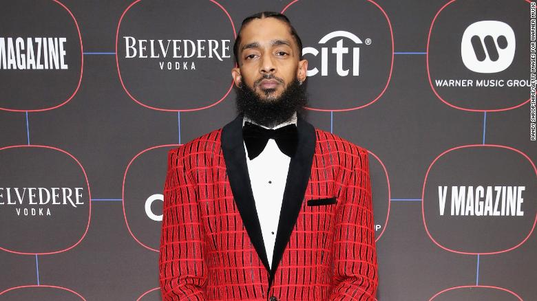 Vigil for rapper Nipsey Hussle ends in chaos, injuries