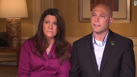 Jeremy Richman and his wife spoke to Anderson Cooper in 2013. Richman encouraged people to talk openly about brain health in the same way that we openly talk about the health of the body.