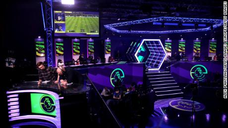 The ePremier League finals were held at the Gfinity Arena, London.