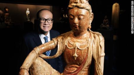 Hong Kong's richest man opens $380M Buddhist museum