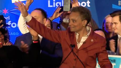 'Representation matters.' Tributes as Chicago elects first black gay woman as mayor
