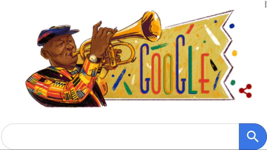 Hugh Masekela: Google Doodle honors jazz legend and anti-apartheid hero - CNN