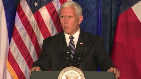 'Surprise' question about Pence led him to hesitate
