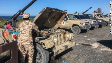 US pulls troops from Libya amid a surge in violence