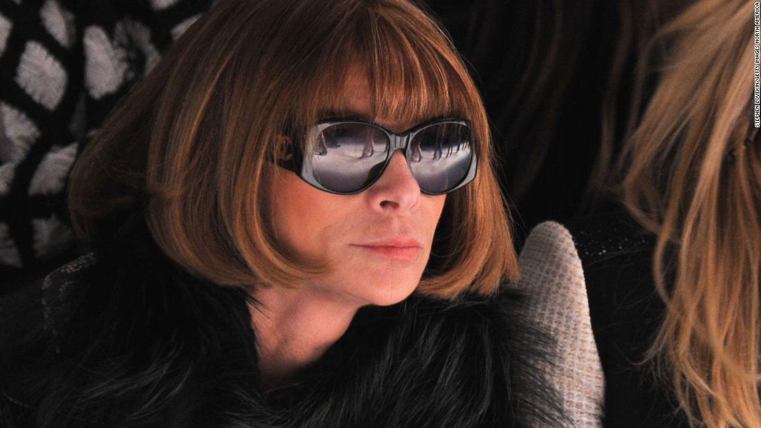 Warum Anna Wintour trägt immer eine Sonnenbrille